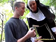 Naughty german nun...