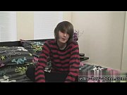 Gay emo video porn Hot emo dude Mikey Red has never done porn before!