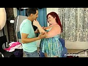 Redhead BBW Model Trinety G Fucks Horny Stud Photographer
