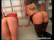 Two awesome blonde girl go in doggy