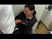 Enchanting czech girl is tempted in the mall and screwed in pov