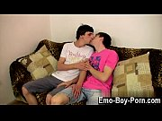 Hardcore gay New emo boy Kurt is making out with draped guy Jesse on