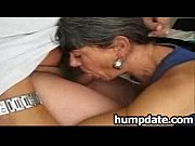 horny mature gives blowjob and gets.
