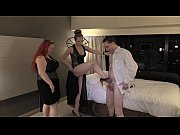 ballbusting lesson: lady victoria nyc and mistress summer.