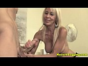 Mature granny spoiling guys dick