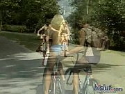 Gina Blue was riding her bike view on xvideos.com tube online.