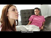 TeenPies - Skinny Brunette Pays Rent With A Creampie