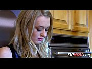 smoking blonde fucked in kitchen 5.