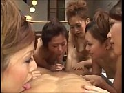 asian blowjob by a group of.
