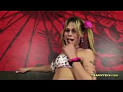 Tranny Harley blows really good