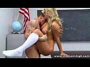 InnocentHigh Blonde schoolgirl teen Cameron Dee fucks teacher