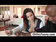 Picture Busty student Noelle Easton swallows her tea...