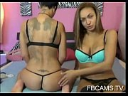Passionate milf and teen lesbian action with toy on webcam - 666webcam.net