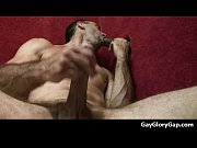 Gloryholes and Handjobs - Gay wet blowjobs through a hole 25