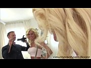 Blonde slut Dyana gets pounded by Roccos monstrous hard cock