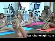 Nude College Girls Practice Yoga
