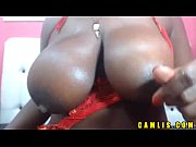 Black BBW camgirl masturbates her wet pussy and show her big ass on &quot_Camlis&quot_