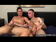 Sexy gay From the moment these two begin kissing, Dallas is turned on