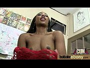 big tit ebony does a blow.