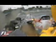 TheDopeCast.com presents Vettel Crashed in F1 Turkey, f1Video Screenshot Preview