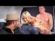 blonde babe with tats flight attendant fuck 4 3