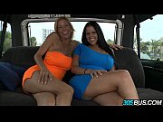 porn-stars diamond kitty &amp_ alexis fawx invade the 305bus.1