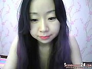 cool blackhaired elly in live sex chat on.
