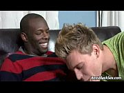 BlacksOnBoys -Gay Interracial Hardcore Fuck Video 10