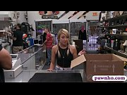 cute babe pounded by nasty pawn guy for.