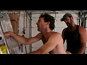 two wild gays builders having anal.