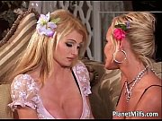 see this two gorgeous blonde milfs