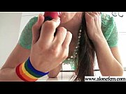 Solo Horny Amateur Girl Get Dildo Toys In Holes video-15