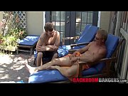 Sexy studs Kameron and Troy enjoy in outdoor anal fucking