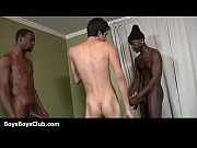 Young white sexy boys banged deep in ass by black men 21