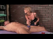 Femdom Masseuse Ruins The Fuck Out Of A Hung Studs Orgasm