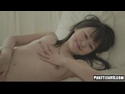 pint sized asian teen babe playing.