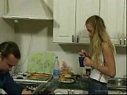 Picture BritishTeen Daughter seduce father in Kitche...