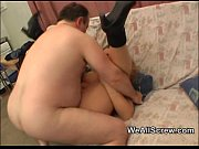 Older fat man fucks younger fat woman