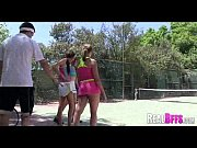 College girls tennis match turns to orgy 118