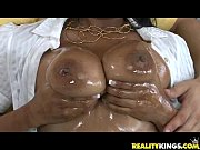 Alia Starr gets her tits oiled up and gets pussy-drilled