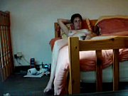 hidden cam catches my hairy mom fingering on bed