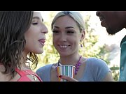 Interracial threesome with Lily LaBeau and Abel | Porn-Update.com