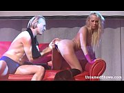 blonde stripper teasing a horny guy