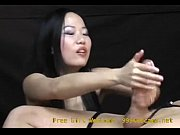 asian girl gives an intense hand job you.