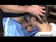 jock in massive dick trouble – Gay Porn Video