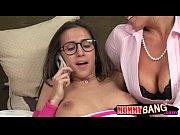 Teen babe April Oneil and coug