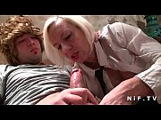 horny amateur french mature gets hard.