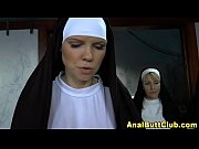 Nuns toy jammed booty
