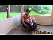 Free gay solo sex movies Keef Gets Wet For His First Time