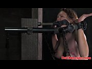 Bound bdsm sub dominated with whipping